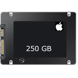 SSD 250 GB pre-installed