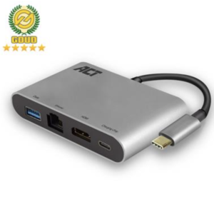 USB-C 4K dual port adapter with HDMI